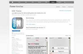 GOZ-Trainer App